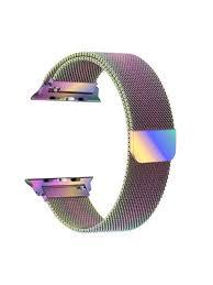 <b>Ремешок EVA Milanese Loop</b> Stainless Steel для Apple Watch 38 ...