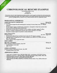 Resume Format Guide: Chronological, Functional, & Combo chronological-resume-format-example