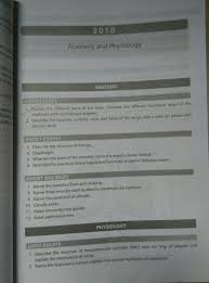 question bank anatomy and physiology first year rguhs thank
