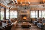 Фото интерьеров деревянных домов и коттеджей
