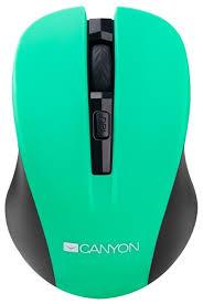 <b>Мышь Canyon</b> CNE-CMSW1GR Green USB — купить по выгодной ...