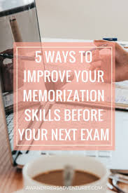 best ideas about school tips study tips high 5 ways to improve your memorization skills before your next exam