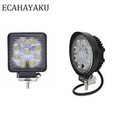 "<b>ECAHAYAKU 1Pcs 4</b>"" 27W Square <b>led</b> work light bar ce rohs <b>led</b> ..."