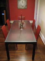 frosted glass dining tables awesome