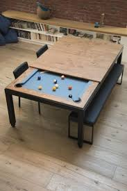 Dining Room Pool Table Combo 1000 Ideas About Pool Table Dining Table On Pinterest Portable