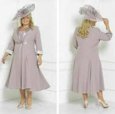 <b>Gray Chiffon Mother of</b> the Bride Outfits Free Jacket Evening Prom ...