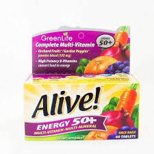<b>Alive Energy 50</b>+ <b>Multivitamin</b> - OneLife Singapore