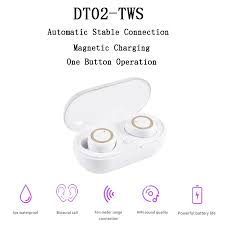 <b>DT2</b> TWS <b>Bluetooth</b> 5.0 <b>Wireless Headphones</b> with Microphone ...
