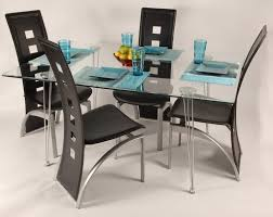 Contemporary Black Dining Room Sets Dining Room Modern Black Counter Height Dining Room Set With