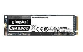 <b>Kingston</b> представила новые <b>KC2500</b> NVMe PCIe SSD ...