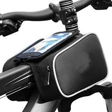 <b>Bicycle</b> Frame Front Top Tube <b>Waterproof Bike Bag</b> Touch Screen ...