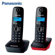 <b>Panasonic KX</b> TG1612RU3 DECT phone, 2 Handset, digital ...