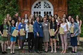 exceptional year essay prize winners celebrated at newnham a group of essay prize winners at newnham