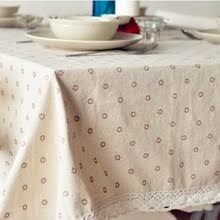 rectangular dining table cover cloth knitted vintage: high quality table cloth daisy cotton linen tablecloth table cloths dining table cover desk towels home textile