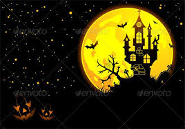 <b>Halloween</b> background with <b>bat</b>, <b>pumpkin</b>, castle, <b>element</b> for design ...