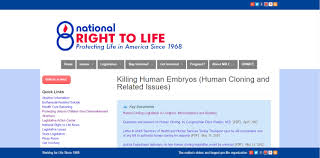 human cloning nrlc killing embryos