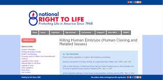 human cloning nrlc killing embryos