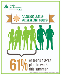 ja in the news junior achievement usa ja teens and summer jobs