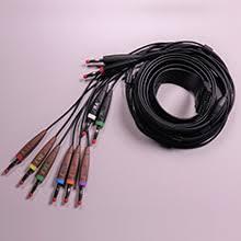 <b>Schiller</b> Patient Cable for Cardiovit FT-1 <b>ECG</b> , <b>10</b>-<b>Lead</b>, Banana ...
