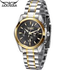 <b>Jaragar Men's Automatic Watches</b> Full Stainless Steel | Shopee ...