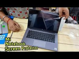 Mi <b>Notebook</b> 14 Horizon <b>Screen Protector</b> || Apply <b>Laptop</b> Protector ...