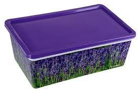 ПОЛИМЕРБЫТ <b>Коробка для мелочей</b> Лаванда, 5,5 л — купить по ...
