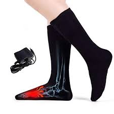 KOTWCG <b>Winter Electric Heated</b> Socks With Battery Case For ...