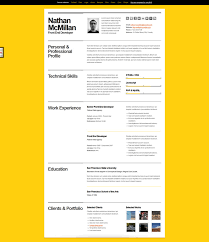 a few interesting resume cv website designsbold resume curriculum vitae website design