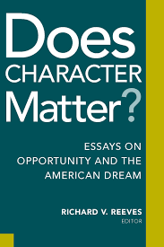 does character matter brookings institution