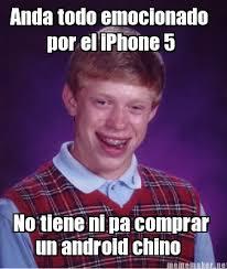 Meme Maker - Anda todo emocionado por el iPhone 5 No tiene ni pa ... via Relatably.com