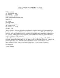 clerk cover letter sample sample cover  swaj eucover letter sample for accounting job