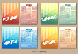 leaflet vector art 7348 s seasonal leaflet template