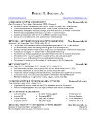 resume rob hoffman picture