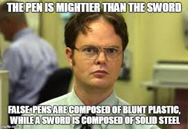 Dwight Schrute Meme - Imgflip via Relatably.com