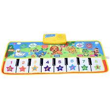 Baby <b>Piano Mats Music Carpets</b> Newborn Kid Children Touch Play ...