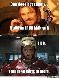 Iron Man And Thor by brian.poole.733 - Meme Center via Relatably.com