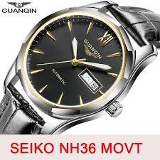 <b>GUANQIN Sapphire</b> Automatic <b>Mechanical</b> Watch <b>men</b> Japan NH36 ...