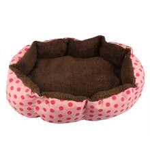 soft Plush Super Soft <b>Pet Bed</b> Kennel Dog Round Cat Winter Warm ...