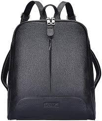 S-ZONE Women Genuine Leather Backpack Purse ... - Amazon.com
