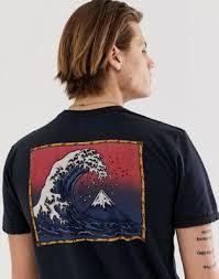 Черная <b>футболка Quiksilver</b> The Original Mountain & <b>Wave</b> | ASOS