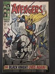 Avengers #48 1968 first <b>printing</b> original Marvel Comic Book 1st ...