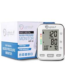 Lightstuff Easy Digital Blood Pressure Monitor: FDA ... - Amazon.com