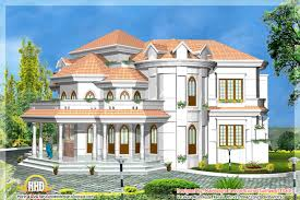 Kerala style house D models   Kerala home design and floor plans    Kerala style house D model   May