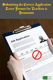 1000 images about adjunct college professor or instructor resume submitting the correct application letter format for teachers is paramount