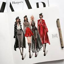<b>Fashion</b> - иллюстрация