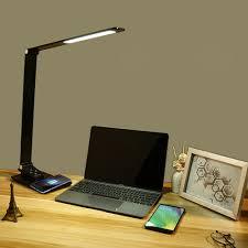 LED Desk <b>Lamp Touch</b> Control Table Reading <b>Light</b> Office Study ...