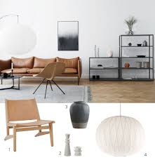 leather sling chair west elm