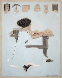 life magazine cover art for life 27 1910 issue illustration by coles phillips
