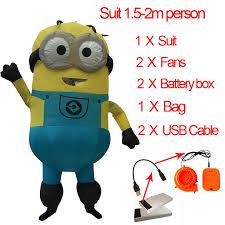 Adult Minion <b>Costume Inflatable</b> Minion Baymax Anime Cosplay ...