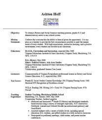 non experienced resume examples  seangarrette coeveryone has to ability to learn if given the opportunity experience resume examples social science teaching   non experienced resume
